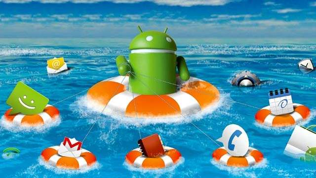 android yedekleme